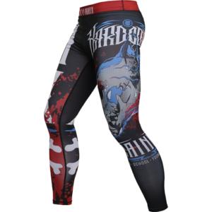 Компрессионные штаны Hardcore Training anatomy of a fighter