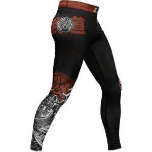 Компрессионные штаны Hardcore training Budo