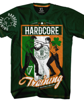 ФУТБОЛКА HARDCORE TRAINING IRISH BOXING