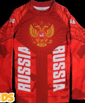 ДЕТСКИЙ РАШГАРД ALFA BREND CAMO RED