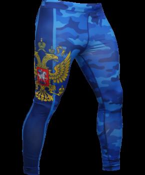 ЛЕГГИНСЫ ALFA BREND CAMO BLUE