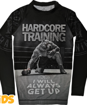 ДЕТСКИЙ РАШГАРД HARDCORE TRAINING Х GROUND SHARK DIE HARD