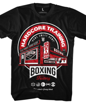 ФУТБОЛКА HARDCORE TRAINING BOXING FACTORY