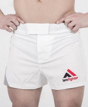 Шорты ММА - ACB White (base)